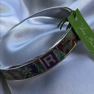 💜VERA BRADLEY Purple Paisley Bangle💜